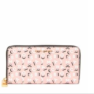 Marc Jacobs Rose Multi Standard Continental Wallet